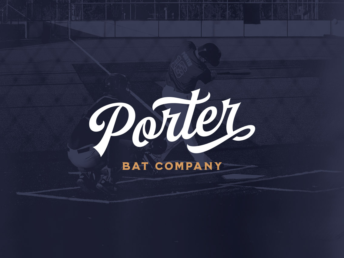 porter bat co, brand design